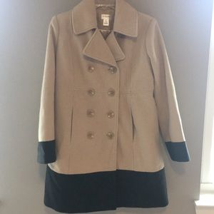 Maternity size small pea coat.